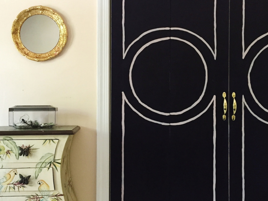 DIY/Upcycle Shutter Doors turned Chic Doors