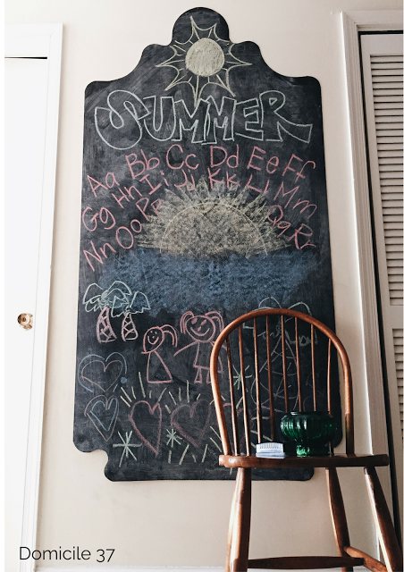 DIY: Rental Approved Chalkboard