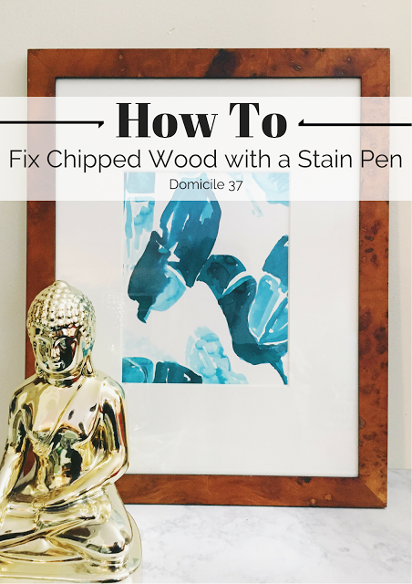 How To: Fix Chipped Wood with a Stain Pen