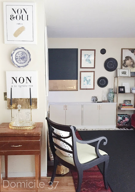 vintage Eclectic Living Room update