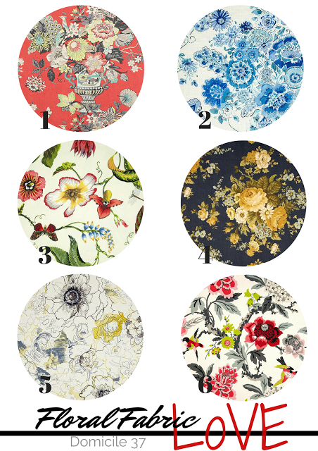 Fabric Love: Floral Prints 2015