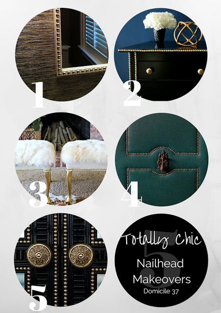 5 Totally Chic Nailhead Makeovers