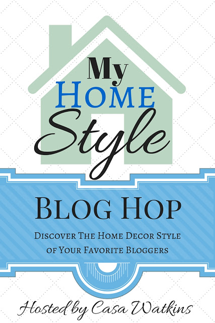 A bloghop with 20 participants about our home decor style