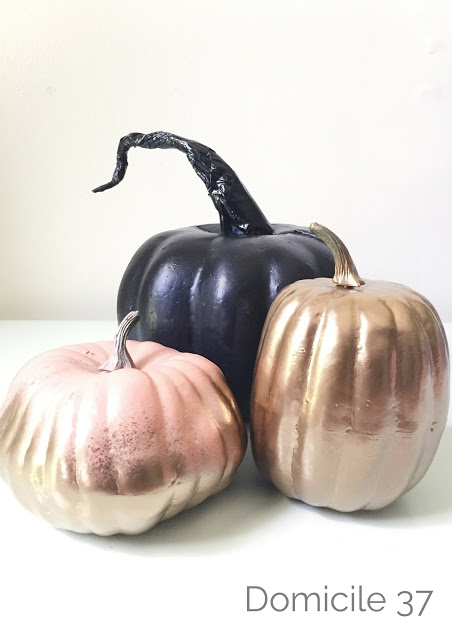 How to add a form like stem to a faux pumpkin so that it can look realistic