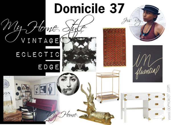 My Home Style: Vintage Eclectic  Edge