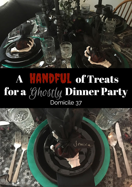 A Handful of Treats for a Ghostly Dinner Party
