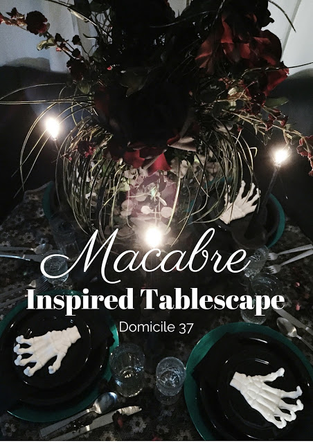 Macabre Inspired Tablescape