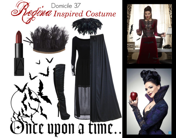 Once Upon a Time, Regina Inspired Costume