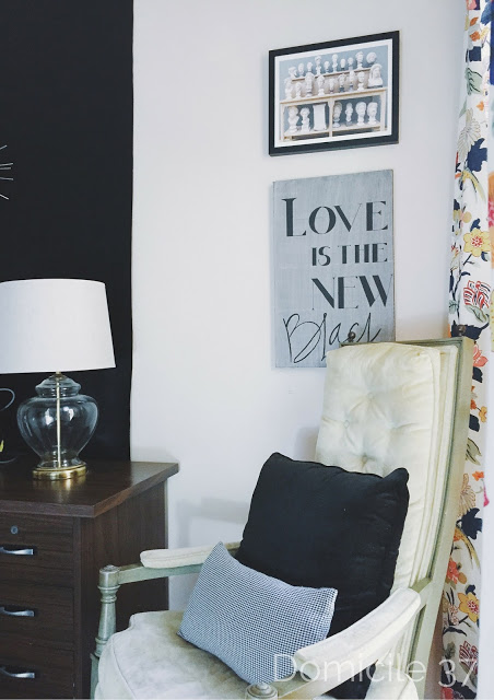 One Room Challenge Fall 2015 Reveal Photos-Mini master bedroom