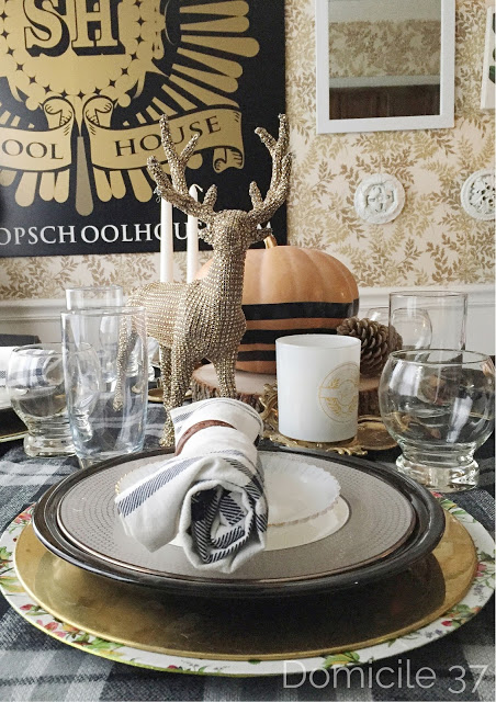 November 2015 Create and Share Thanksgiving/Harvest tablescape