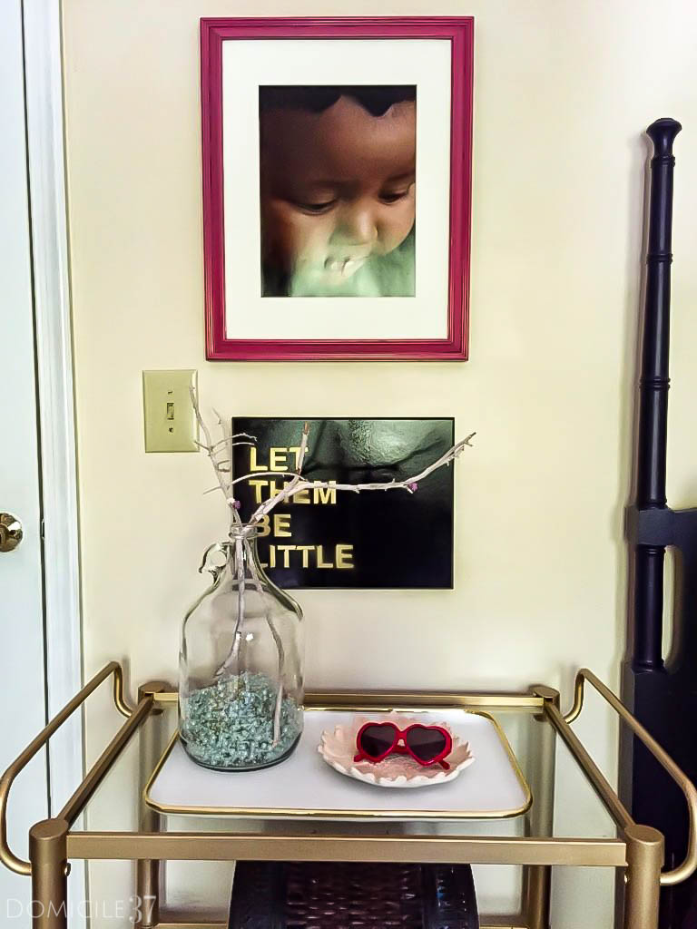 Different ways to style a bar cart | Non alcoholic bar carts | bathroom bar cart ideas | bar carts in bedrooms | bar cart styling for entertaining