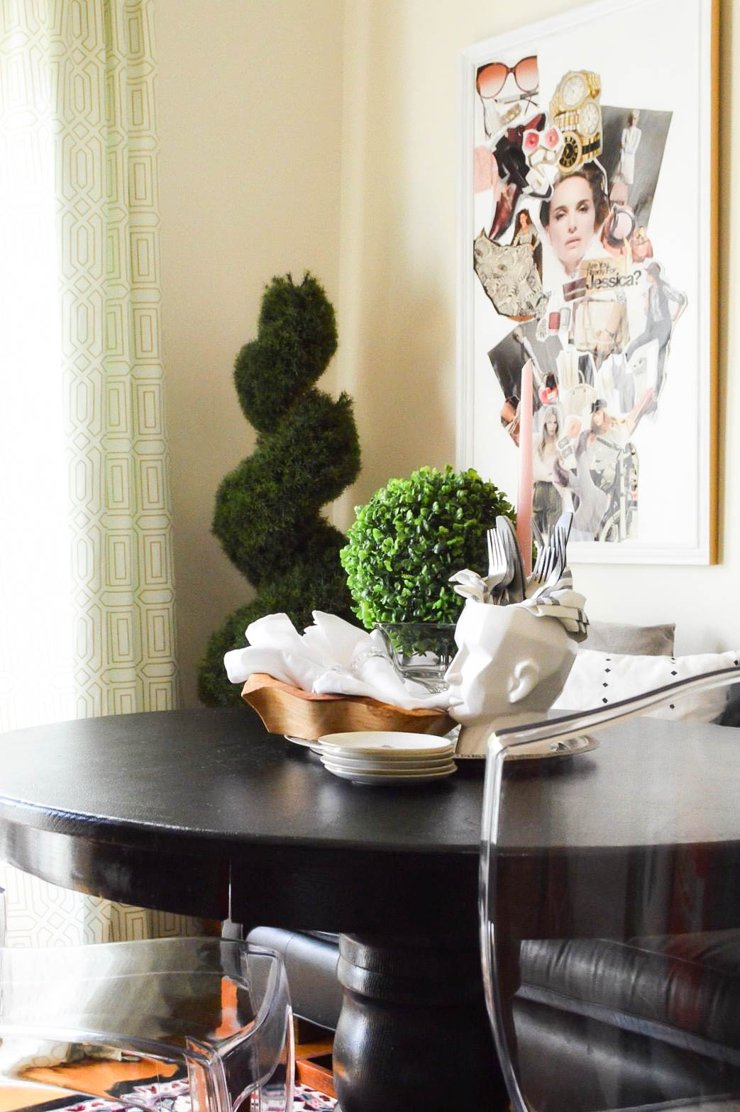 Summer Eclectic Home Tour | Home Tour | Eclectic Dining Room