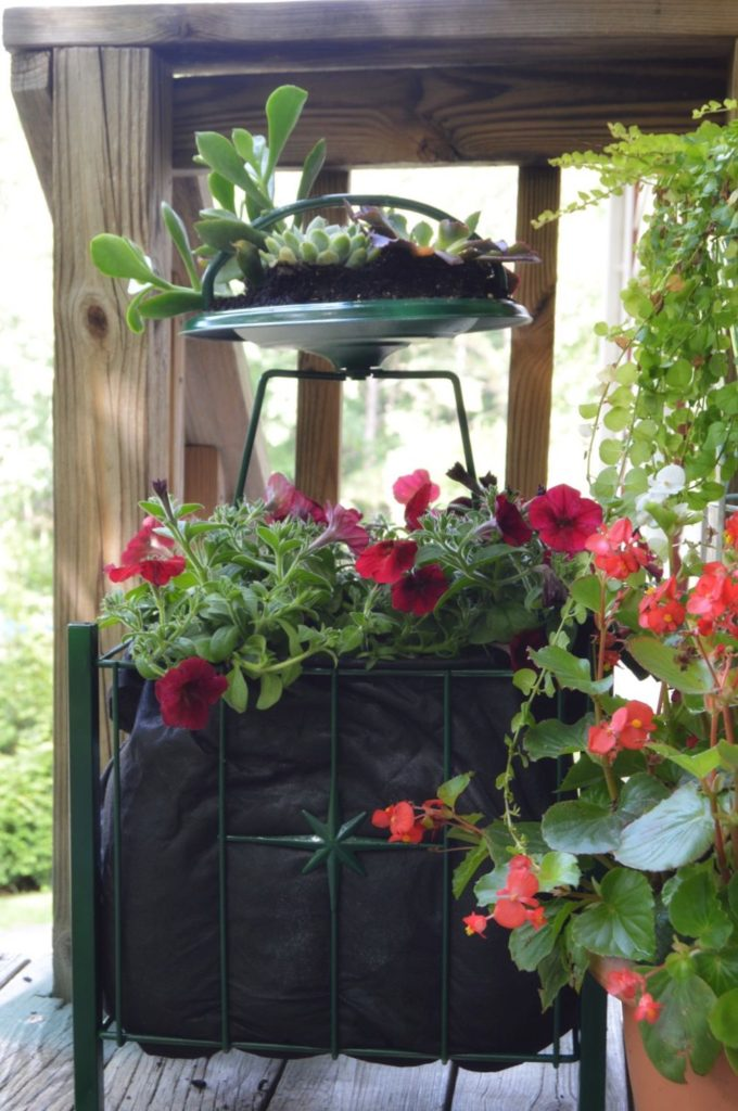 magazine holder turned planter, DIY planter, repurposed planter, gardening, DIY planter ideas