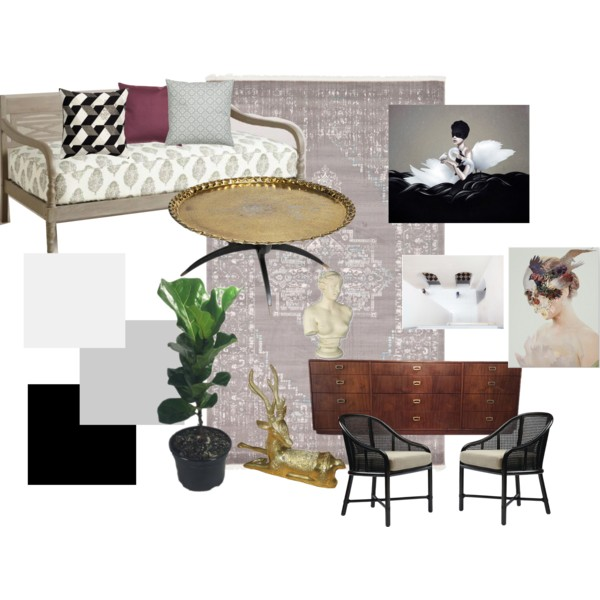 Inspiration board for my living room