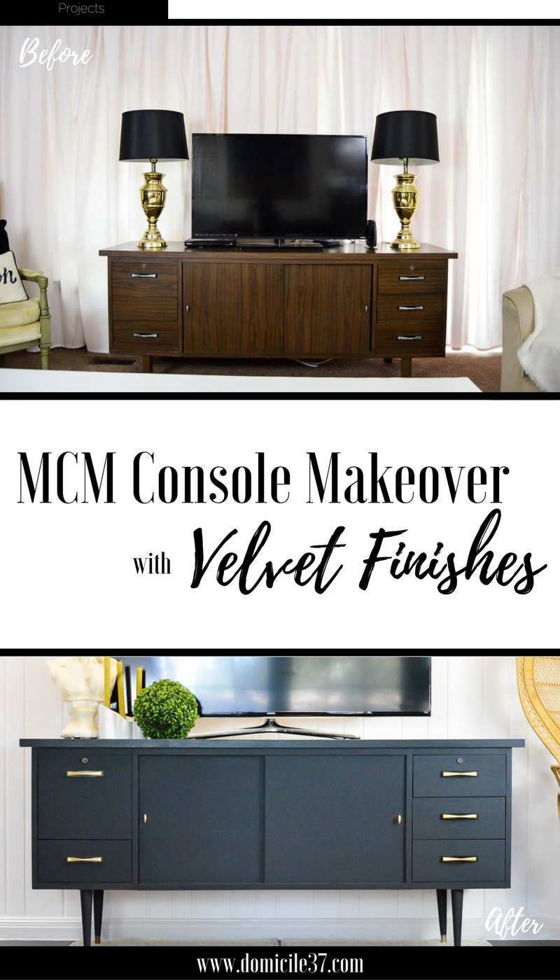 mcm-console-makeover-with-velvet-finishes