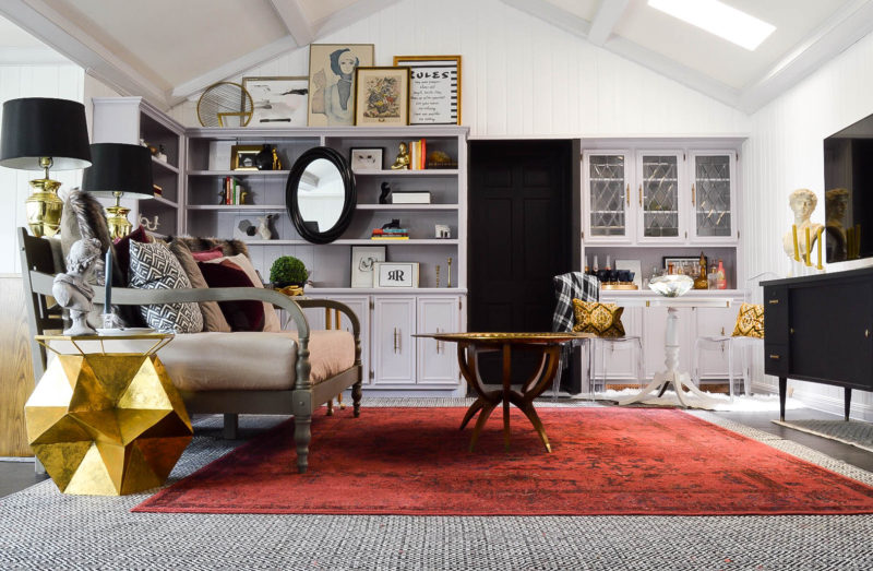 Final Fall ORC Reveal 2016: Vintage Eclectic Family Room