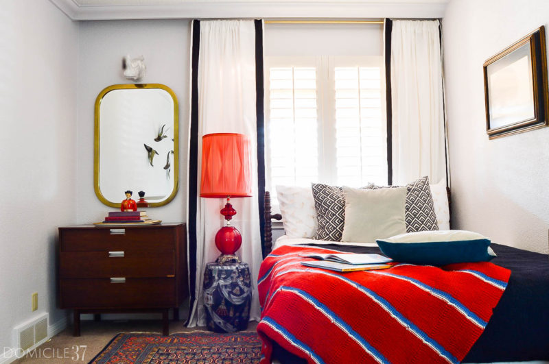 Vintage Eclectic Wes Anderson Inspired Boy's Room