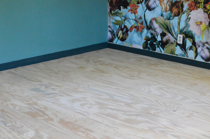 Plank Wood Flooring and Staining the Floors with WOCA