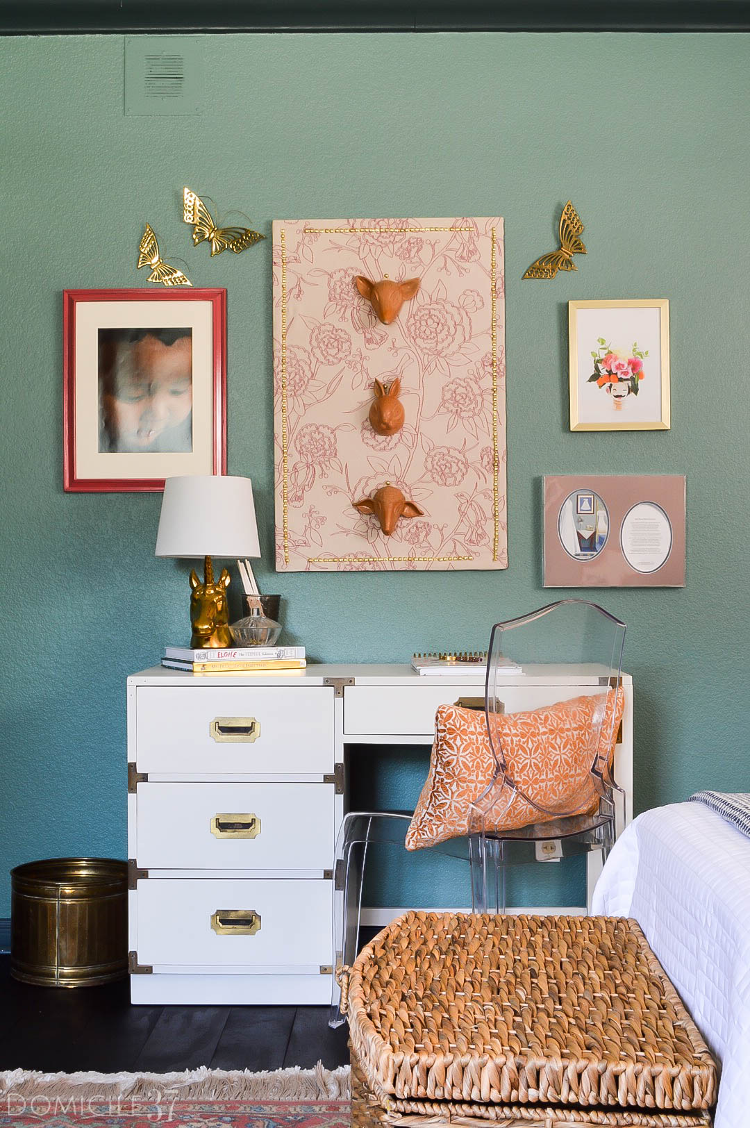 Domicile 37 Home Tour- Vintage Eclectic Southern Ranch Home
