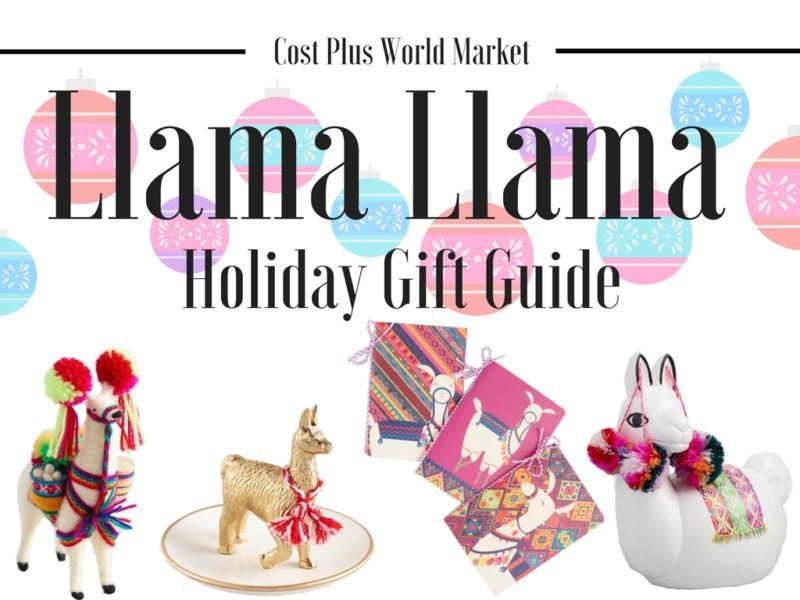 Cost Plus World Market Llama Holiday Gift Guide