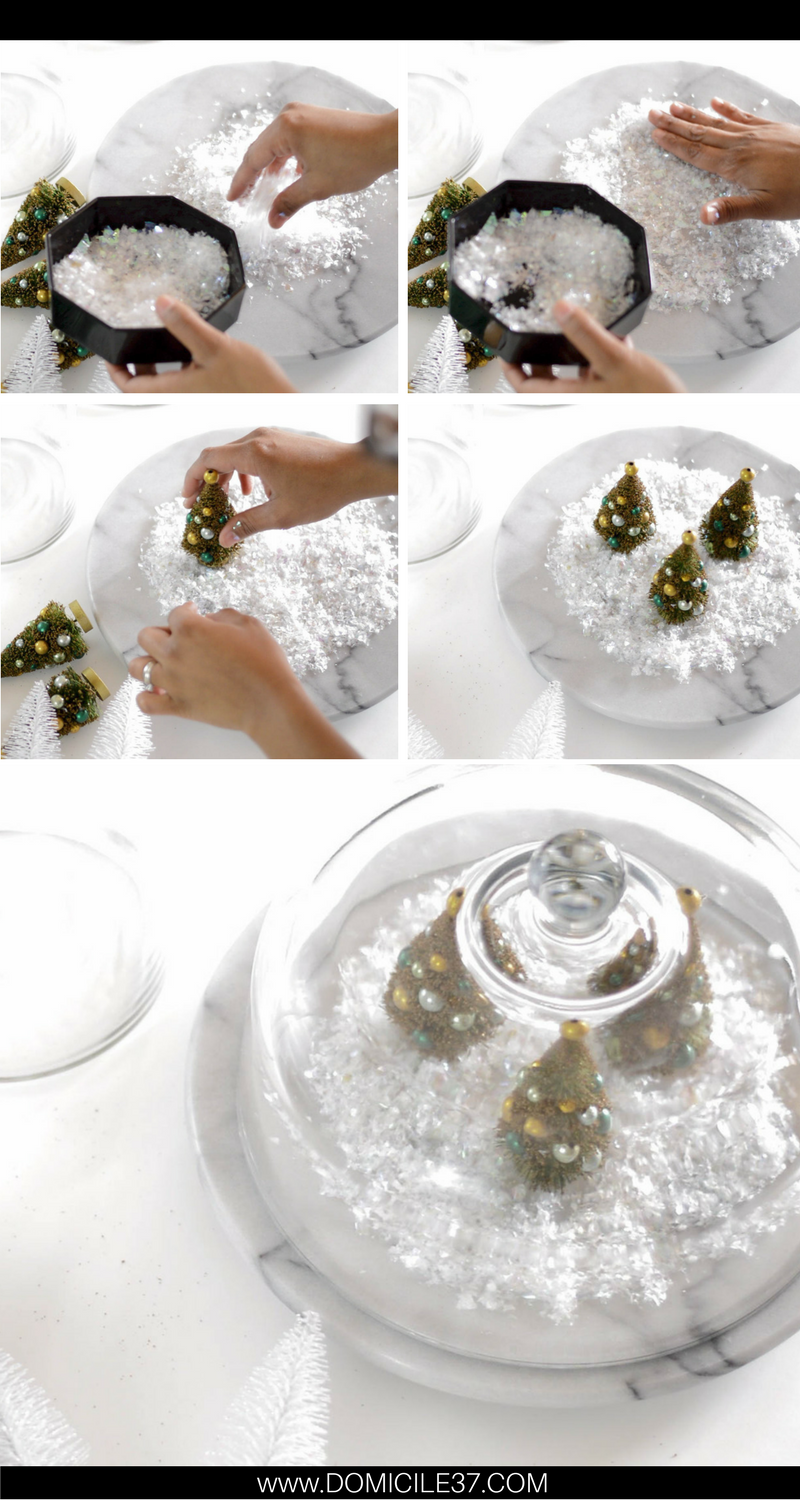How to create a Christmas Terrarium | Christmas decor ideas | Simple Christmas ideas
