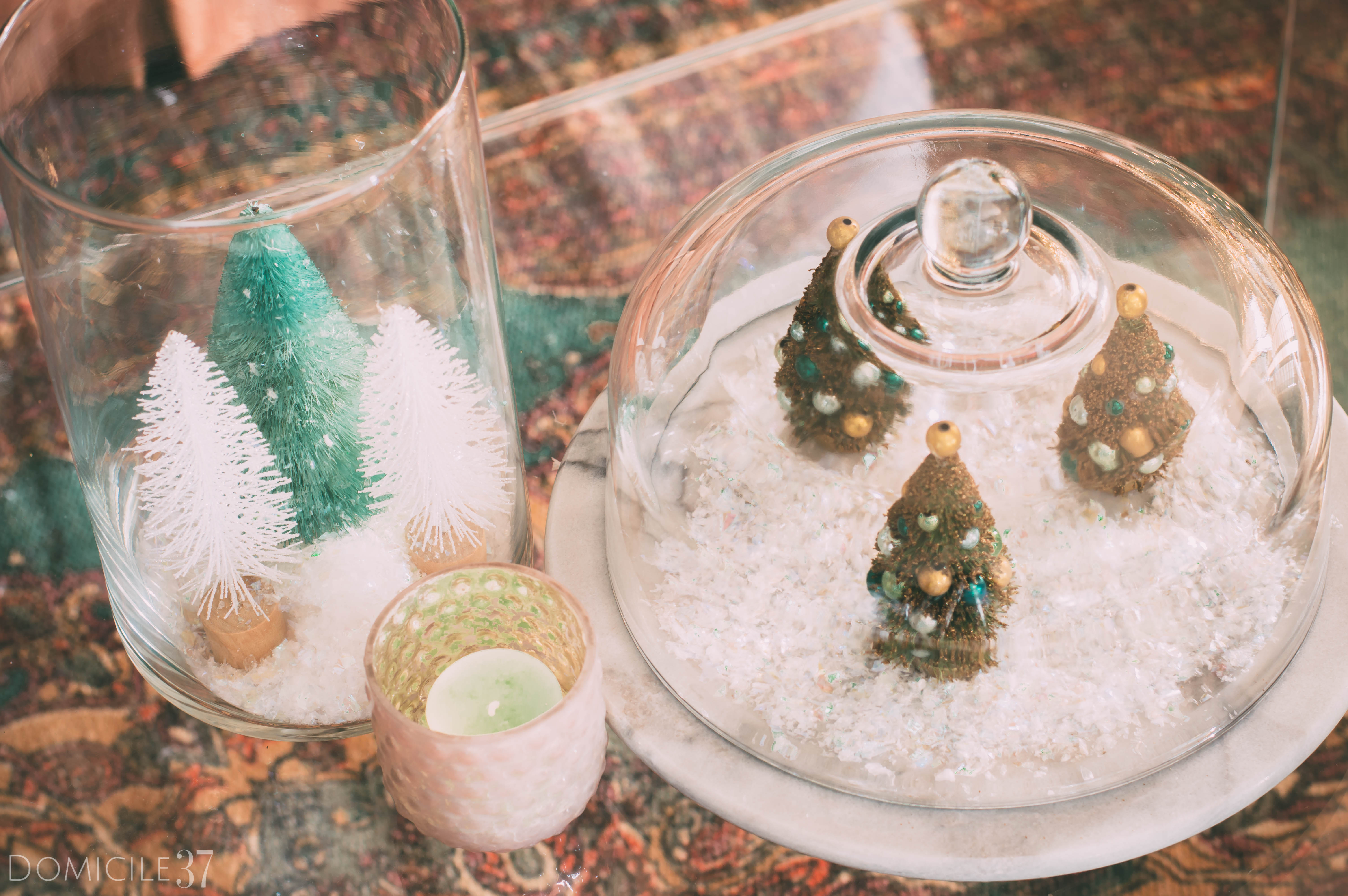 Christmas Tree Terrarium | Simple Christmas DIY