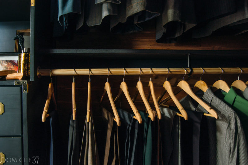 NYNR Reveal: Shared Walk-in Closet and Accessory Closet