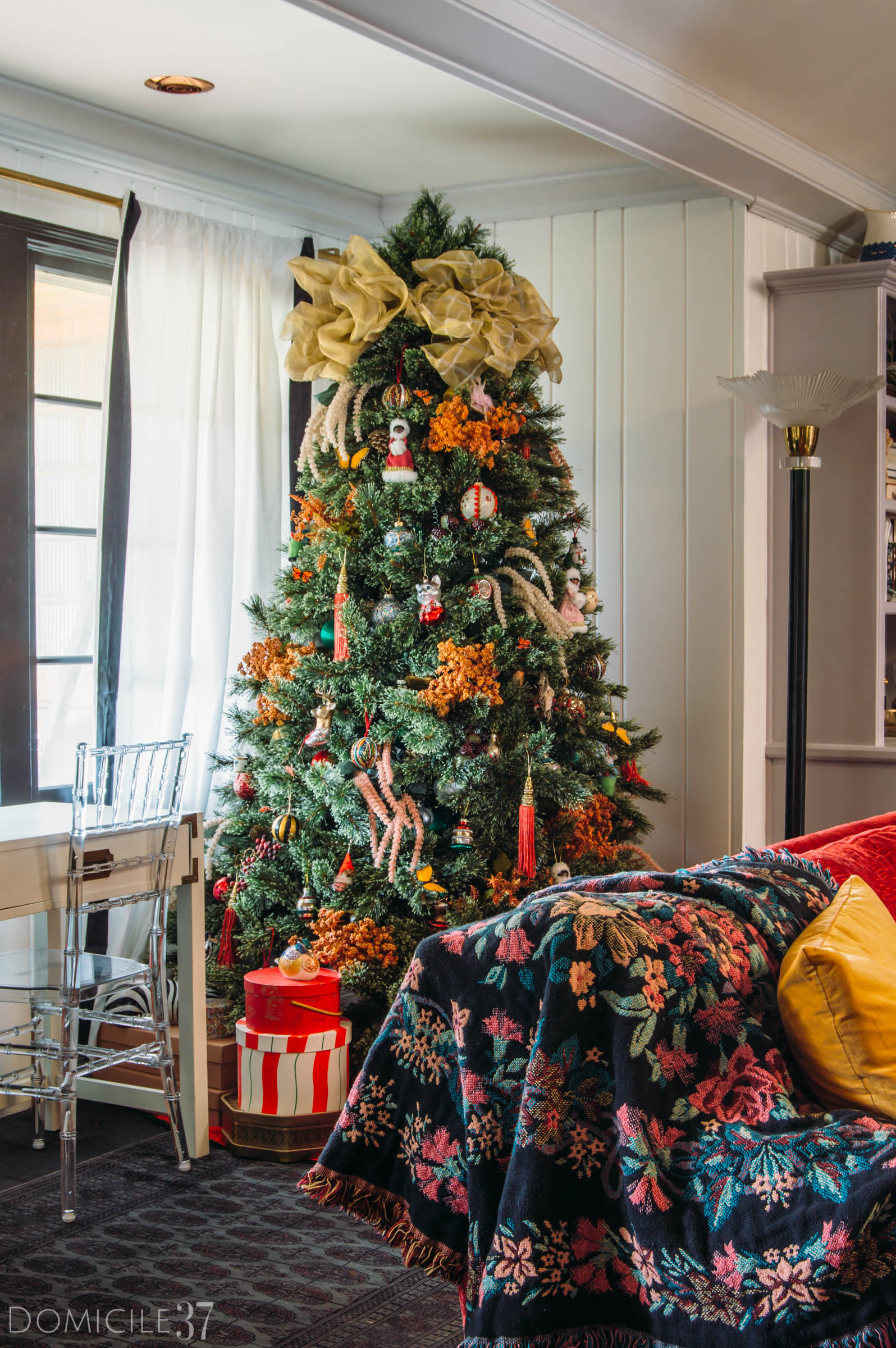 My Home Style Christmas Tree 2018, Haute Bohemian Christmas,