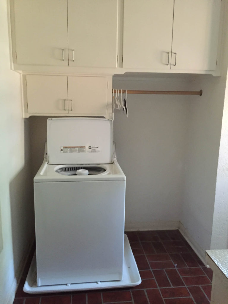 New Year New Room Refresh, Laundry room