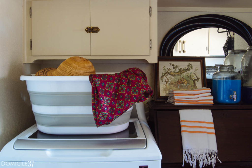 Collapsable laundry basket, laundry room essentials for small laundry rooms